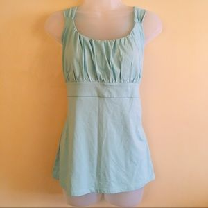 ANN TAYLOR Light Blue Tank - AN0312